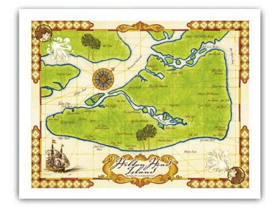 Framing Prints - Framing a map print